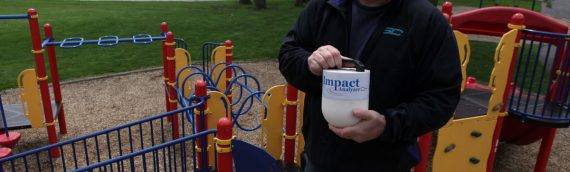 Playground Safety Tester Invented by Munster Man